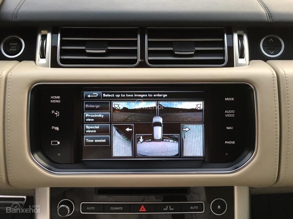 Range Rover Autobiography LWB 5.0 đời 2014, màu đen, xe nhập Mỹ (12)