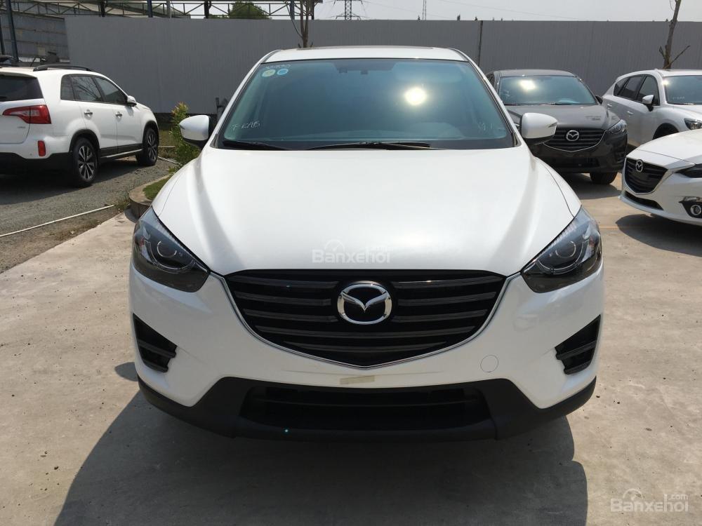 Cần bán Mazda CX5 2.5 Facelift, màu trắng, giá tốt, trả góp tối đa - 0938 900 820-0