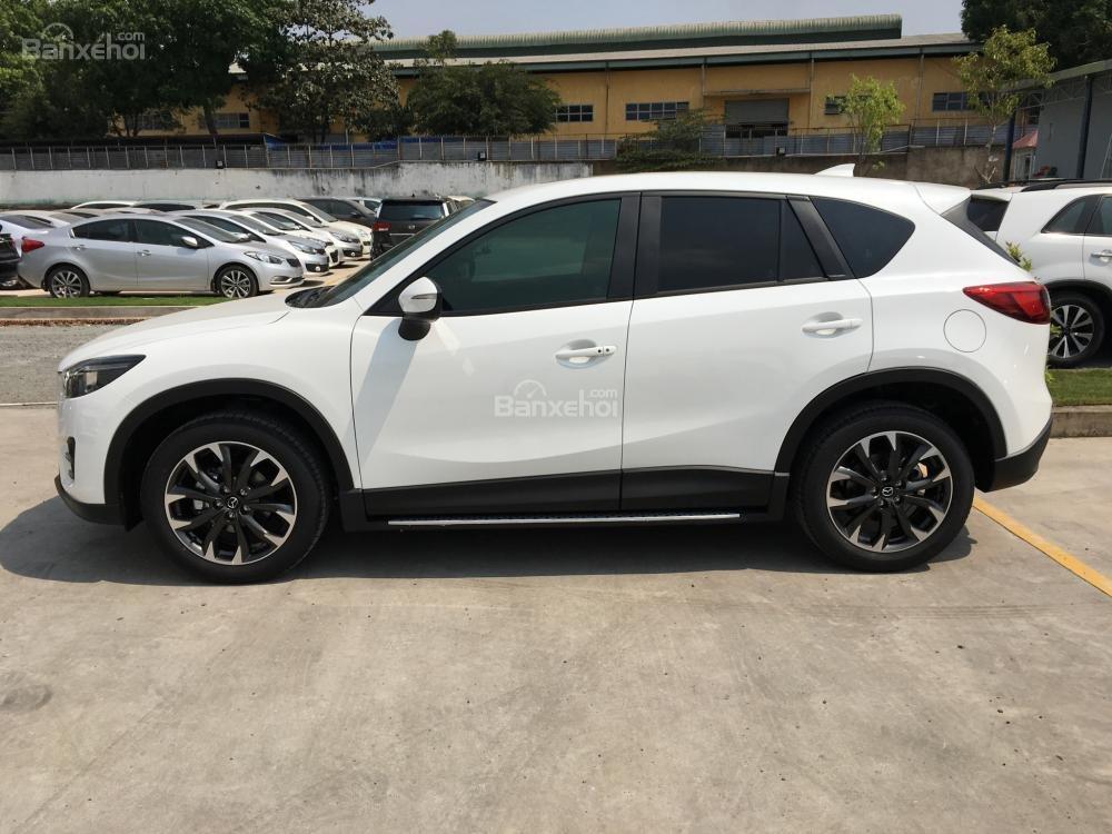 Cần bán Mazda CX5 2.5 Facelift, màu trắng, giá tốt, trả góp tối đa - 0938 900 820-1