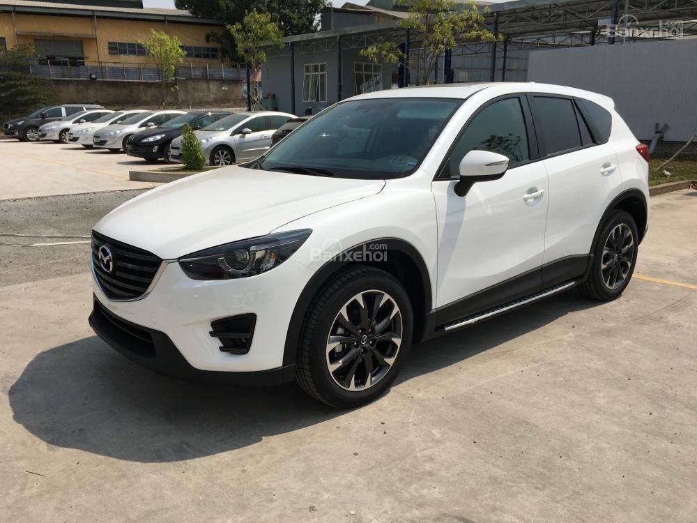 Cần bán Mazda CX5 2.5 Facelift, màu trắng, giá tốt, trả góp tối đa - 0938 900 820-2