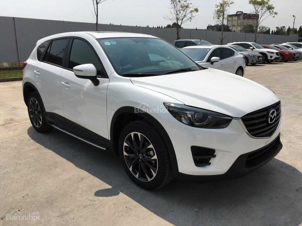 Cần bán Mazda CX5 2.5 Facelift, màu trắng, giá tốt, trả góp tối đa - 0938 900 820-3