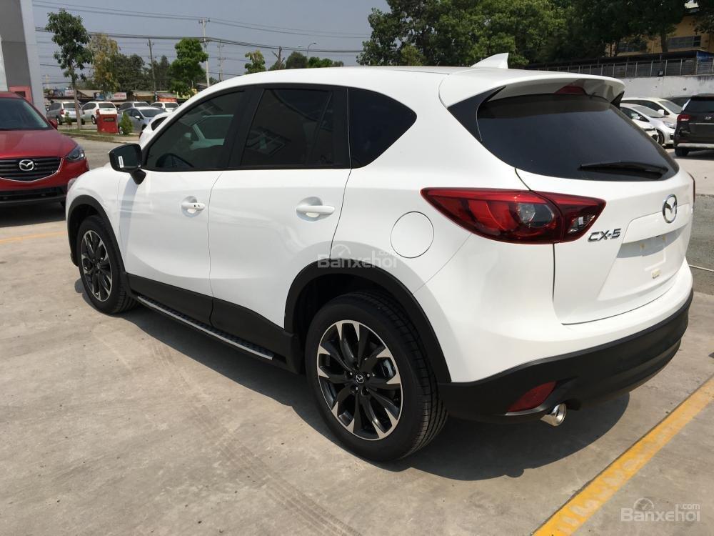Cần bán Mazda CX5 2.5 Facelift, màu trắng, giá tốt, trả góp tối đa - 0938 900 820-7