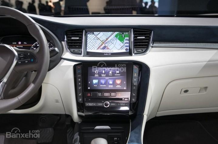 Đánh giá xe Infiniti QX50 2018-2019: Nội thất của xe khá sang trọng.