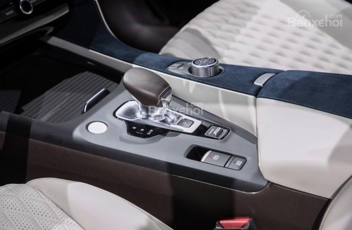 Đánh giá xe Infiniti QX50 2018-2019: Cần gạt số.