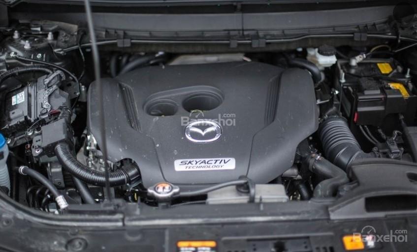 Đánh giá xe Mazda CX-9 2018: Xe được trang bị 1 động cơ duy nhất.