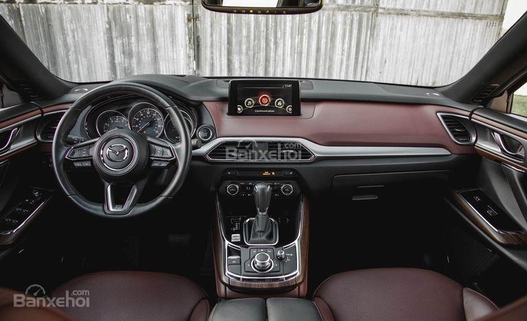Mazda CX-9 2018 có nội thất sang trọng.