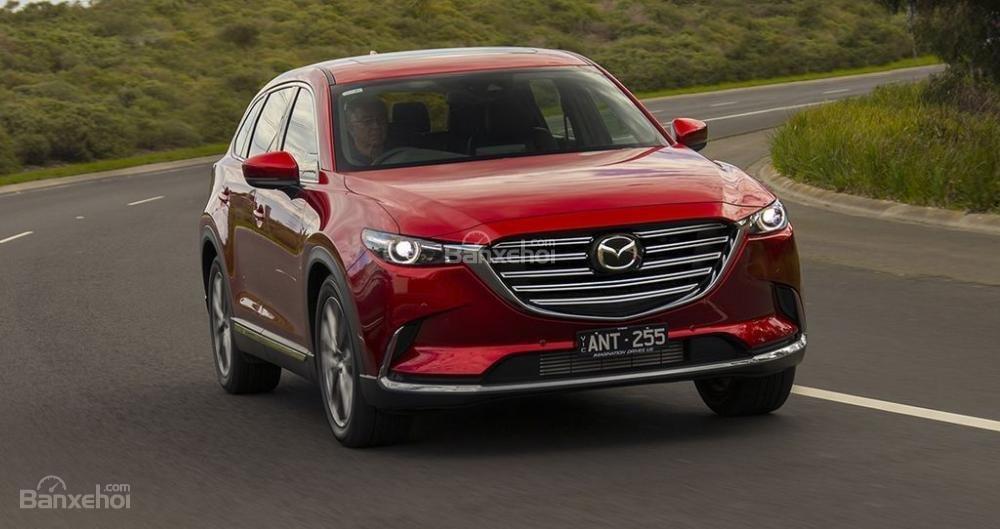 Mazda CX-9 2018 có trải nghiệm lái tuyệt vời.