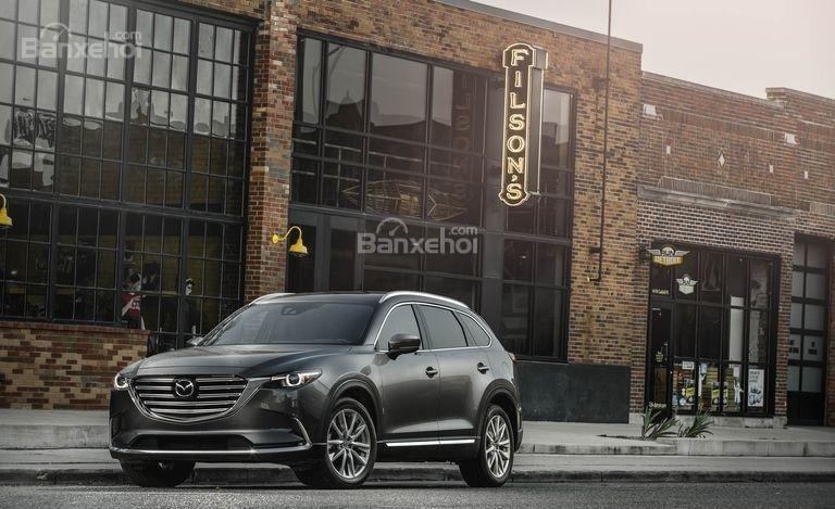 Đánh giá xe Mazda CX-9 2018: Sở hữu một số cải tiến mới.