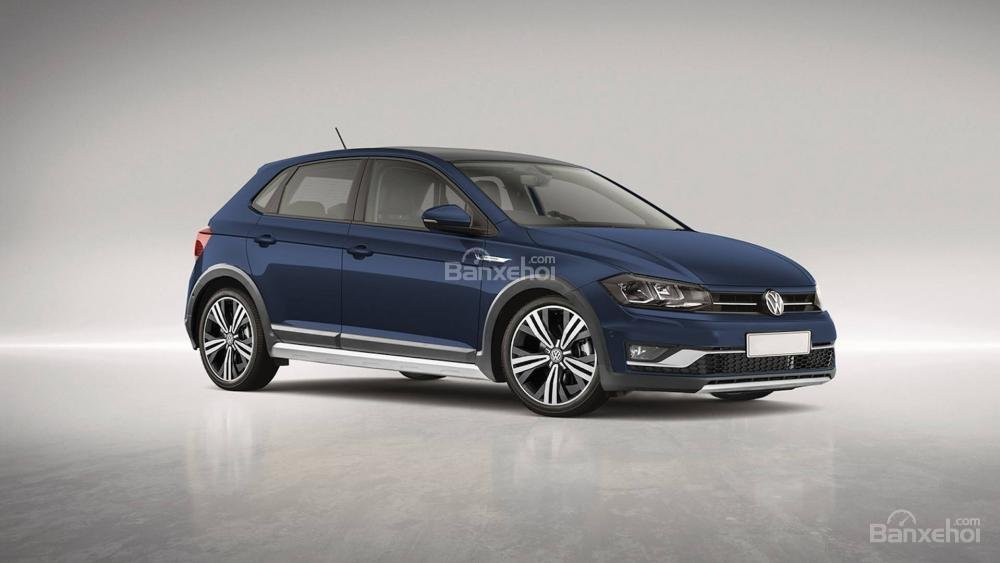 Volkswagen Polo Alltrack xuất hiện, đối đầu Ford Fiesta Active.