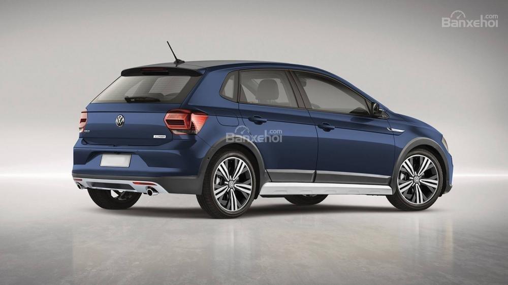 Volkswagen Polo Alltrack xuất hiện, đối đầu Ford Fiesta Active 1