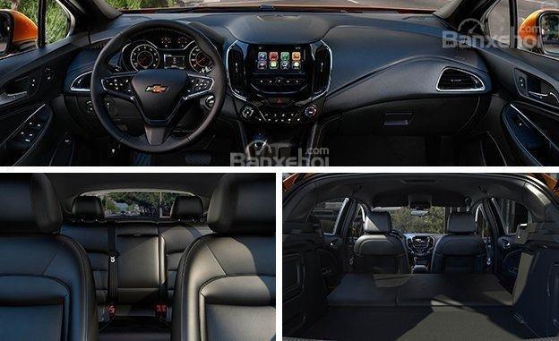Đánh giá xe Chevrolet Cruze hatchback 2018 về thiết kế nội thất a1