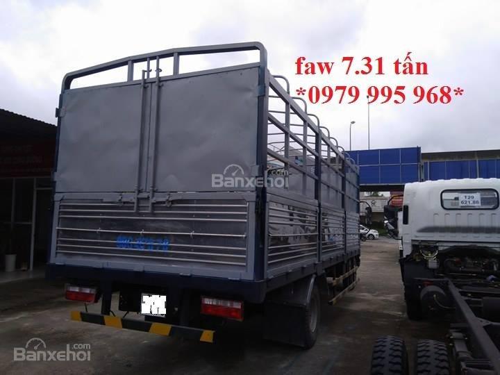 Bán xe tải Faw 7,31 tấn, thùng mui bạt dài 6,25m, cabin hiện đại-2