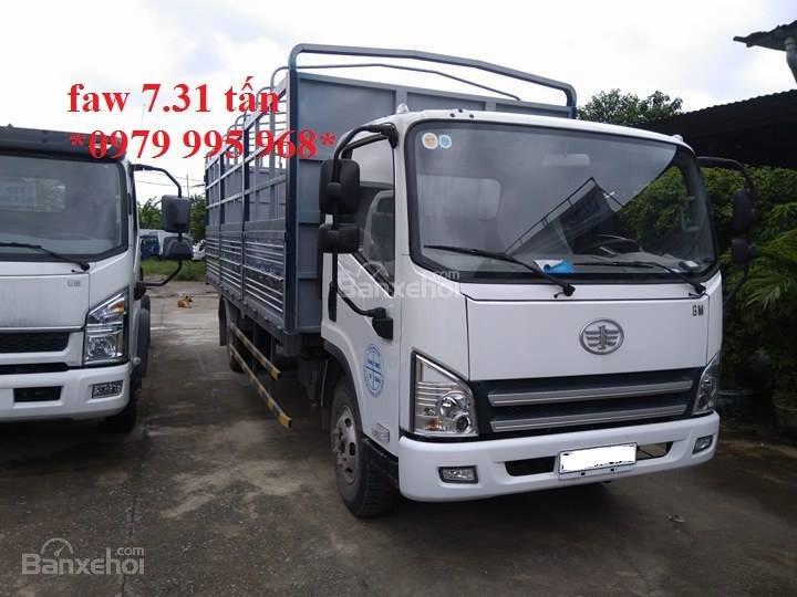 Bán xe tải Faw 7,31 tấn, thùng mui bạt dài 6,25m, cabin hiện đại-3