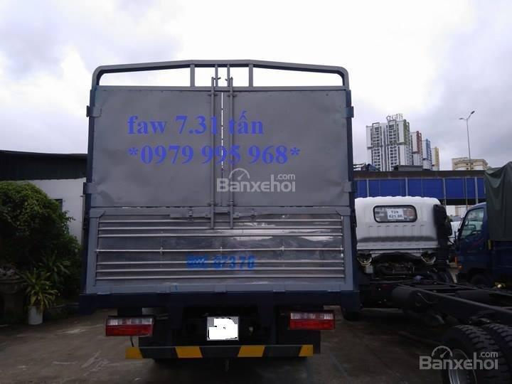 Bán xe tải Faw 7,31 tấn, thùng mui bạt dài 6,25m, cabin hiện đại-5