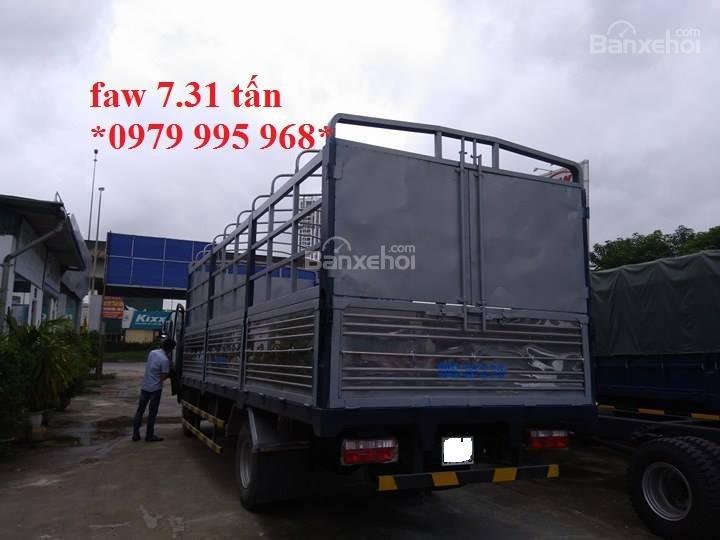 Bán xe tải Faw 7,31 tấn, thùng mui bạt dài 6,25m, cabin hiện đại-4