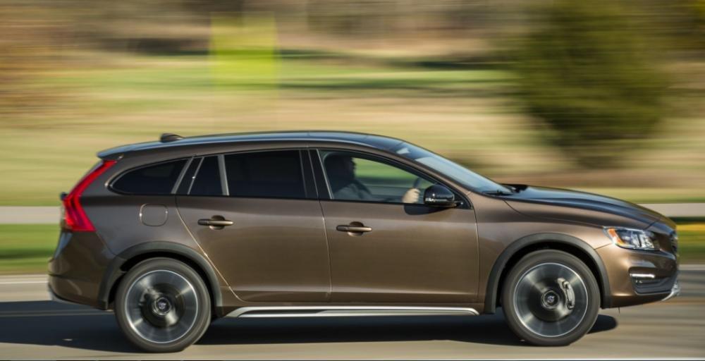 Đánh giá xe Volvo V60 2018 về thiết kế thân xe
