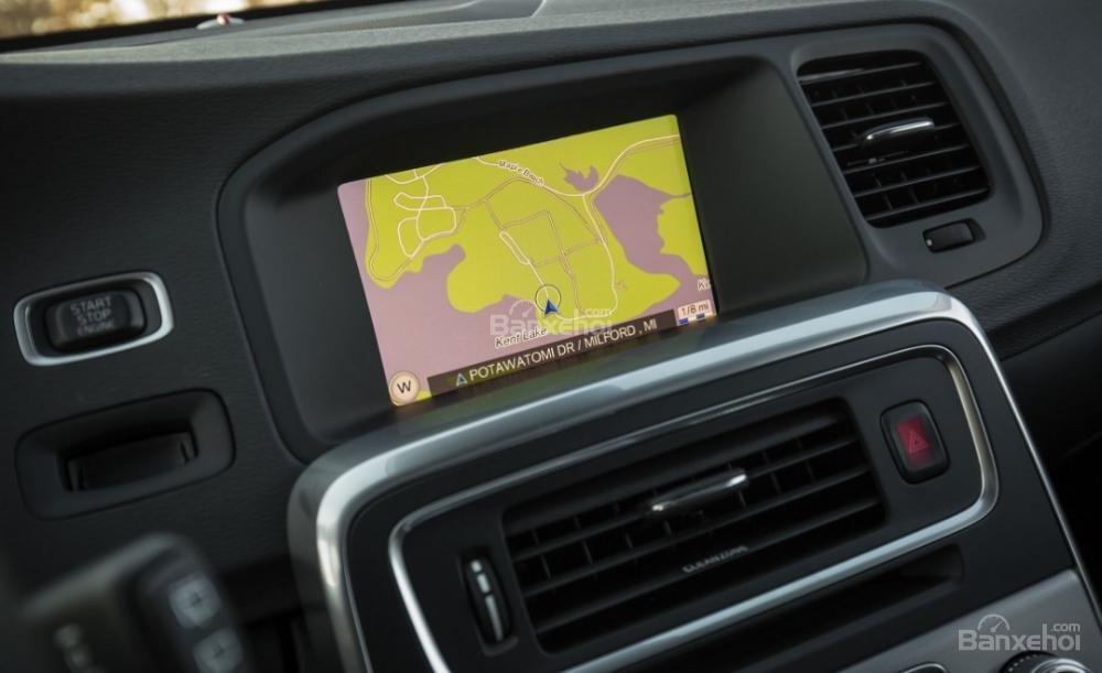 Đánh giá xe Volvo V60 2018 về hệ thống giải trí