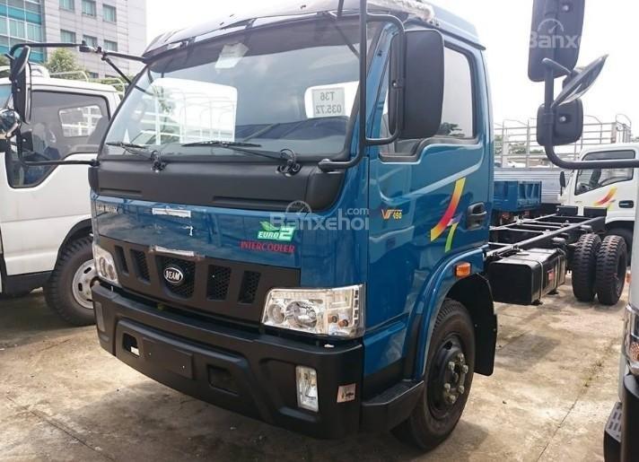Cần bán xe tải Veam VT500 thùng bạt, thùng dài 6m1 (1)