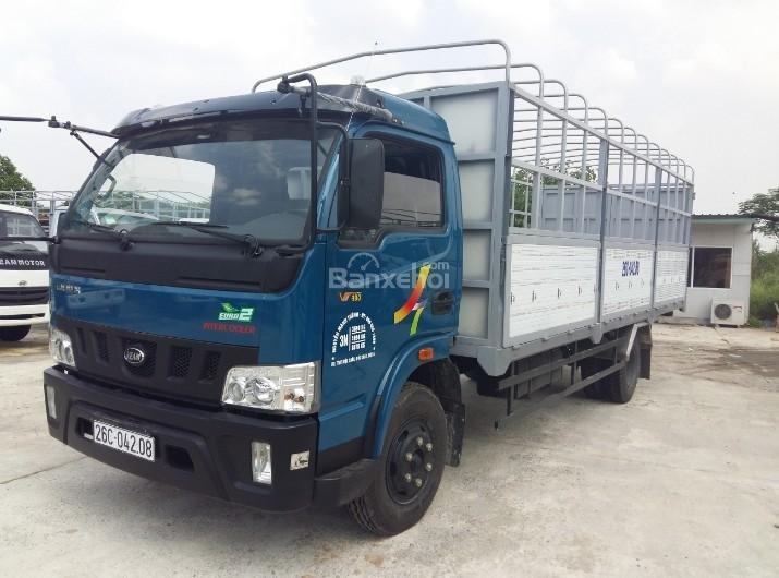 Cần bán xe tải Veam VT500 thùng bạt, thùng dài 6m1 (3)