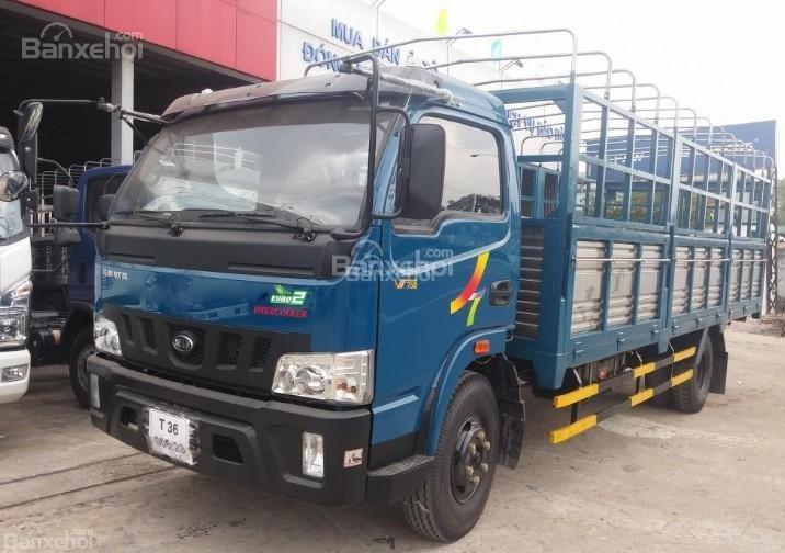 Cần bán xe tải Veam VT500 thùng bạt, thùng dài 6m1 (4)