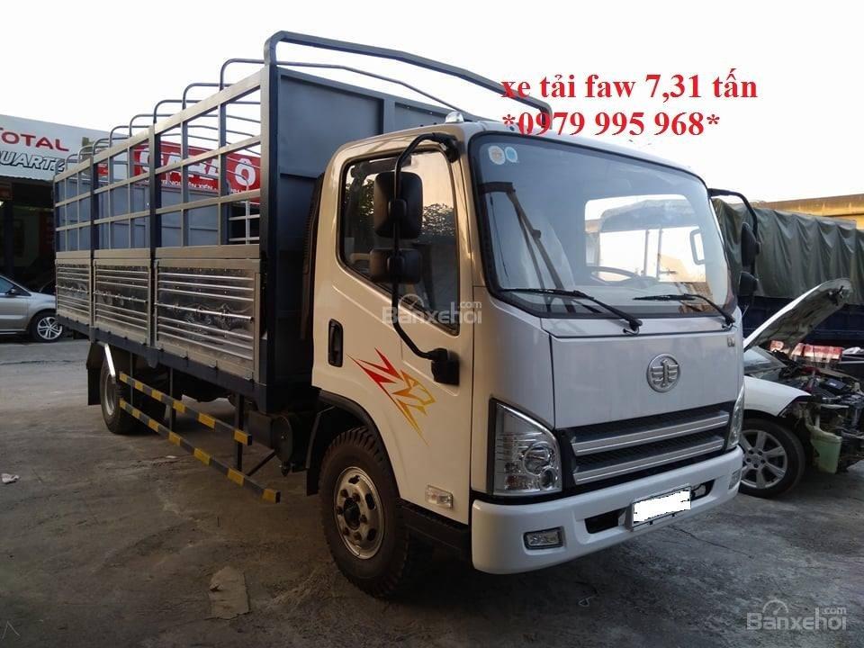 Bán xe tải GM Faw 7,31 tấn, động cơ 130PS mạnh mẽ, thùng dài 6,25M, giá cực rẻ-0