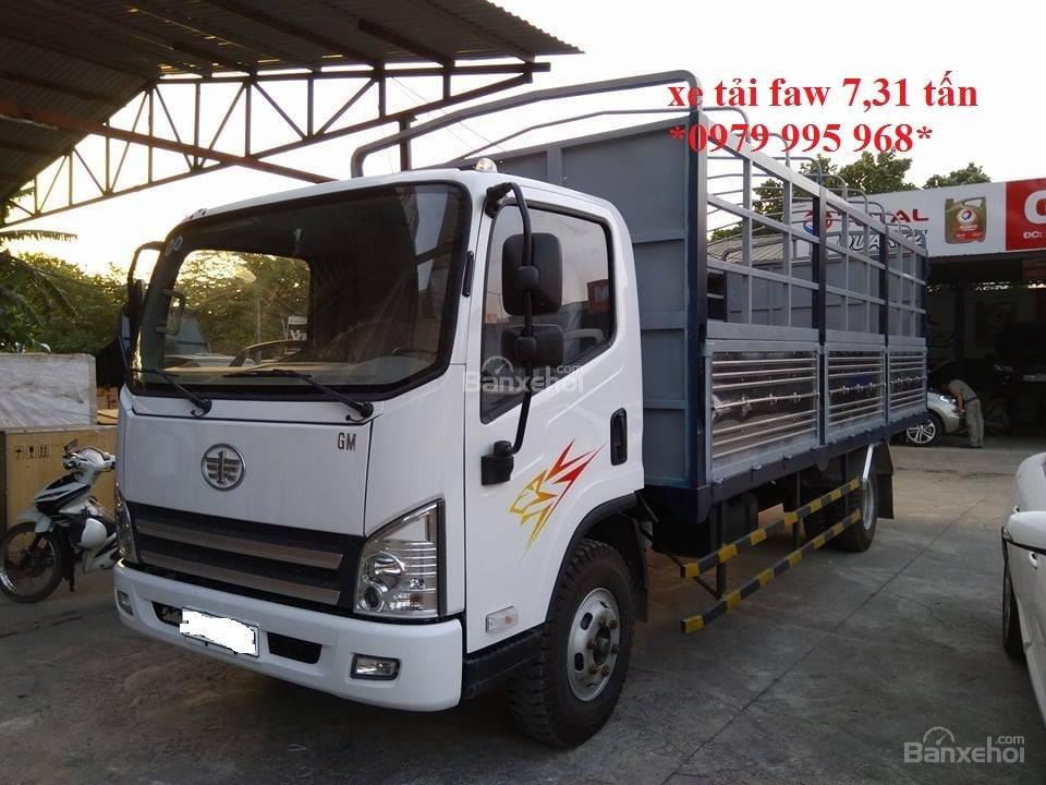 Bán xe tải GM Faw 7,31 tấn, động cơ 130PS mạnh mẽ, thùng dài 6,25M, giá cực rẻ-5