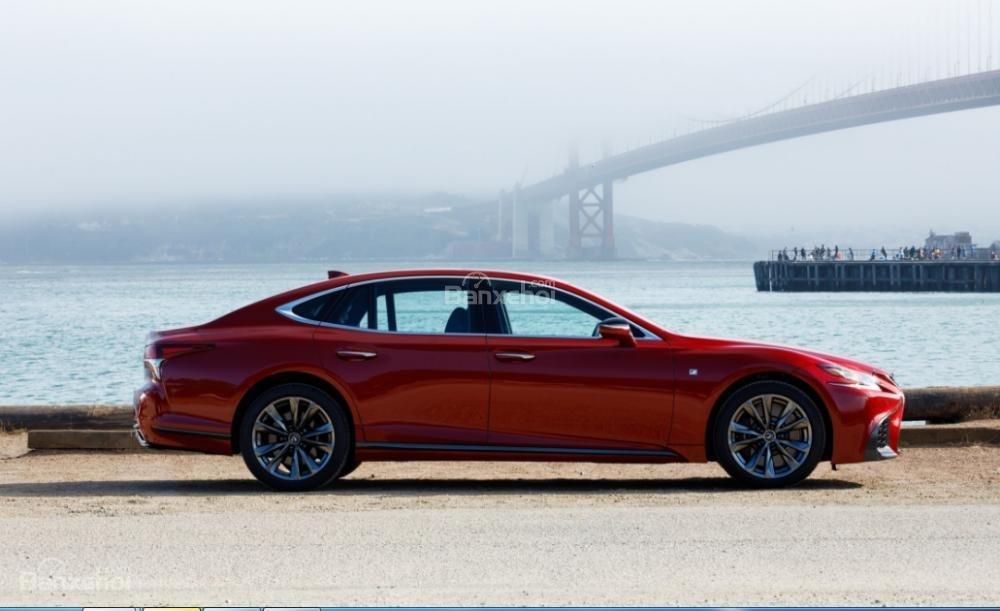 Đánh giá xe Lexus LS 2018 về thiết kế thân xe