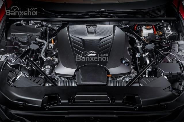 Lexus LS 2018 sở hữu khối động cơ V6 3,5 lít