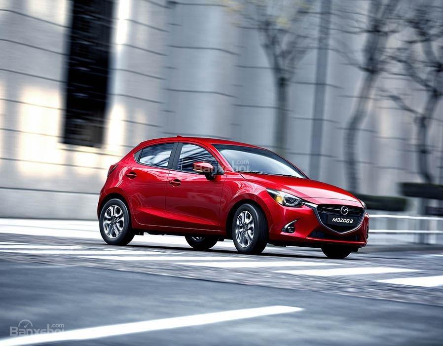Đánh giá xe Mazda 2 2017-2018: Xe đã ra mắt ở thị trường Thái Lan.