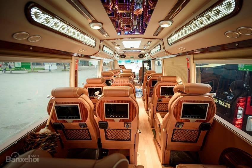 Bán Fuso Rosa Dcar sản xuất 2017, bản độ Limousine 19 chỗ, biển Hà Nội-10