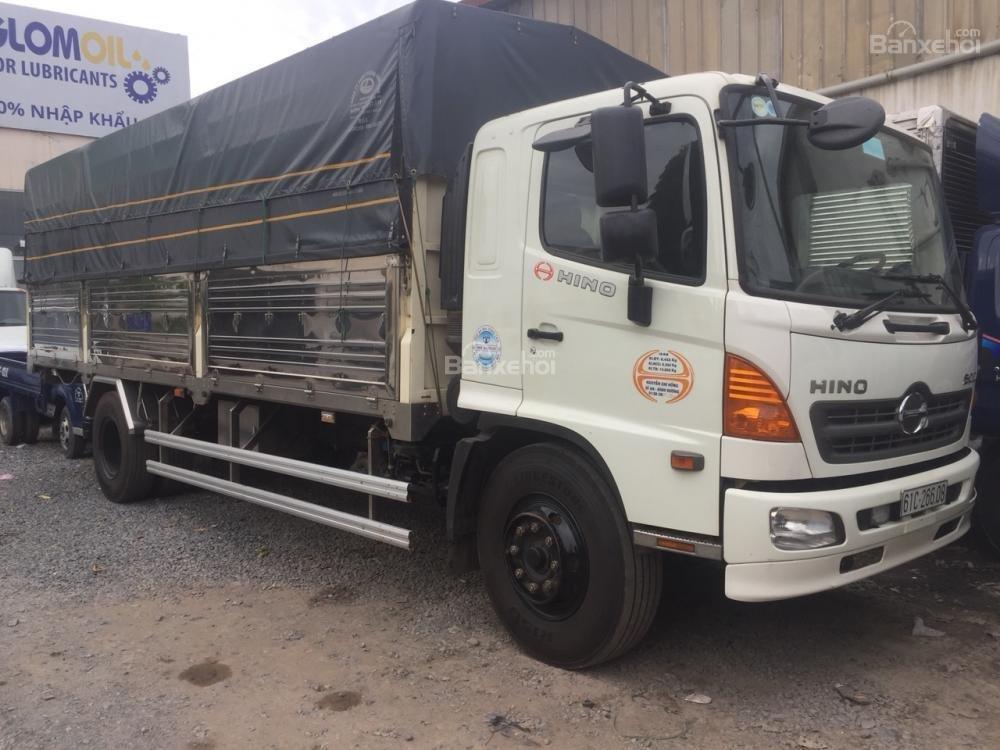 Bán Hino 8 tấn FG SX 2016, ĐK 2017 thùng 7m2-4