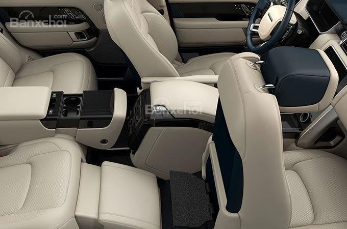 Đánh giá xe Land Rover Range Rover 2018 về hệ thống ghế ngồi/