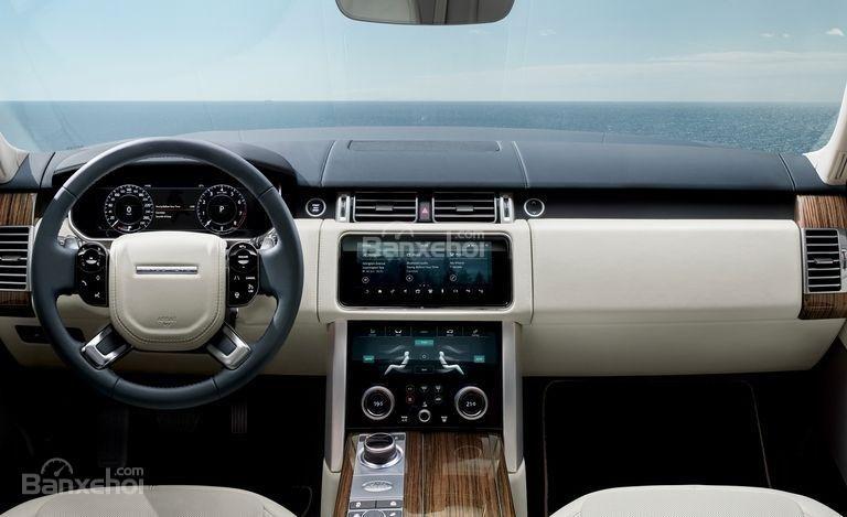 Khoang nội thất Land Rover Range Rover 2018