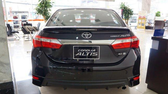 So sánh xe Toyota Corolla Altis 2018 với Kia Cerato 2018_3