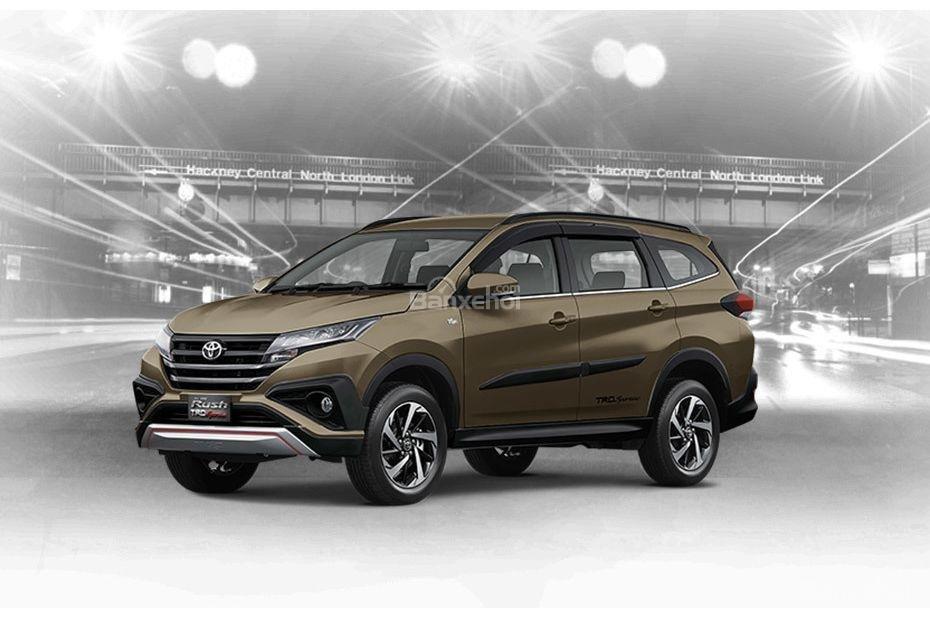 Toyota Rush 2018 có 6 tùy chọn ngoại thất: Đồng.