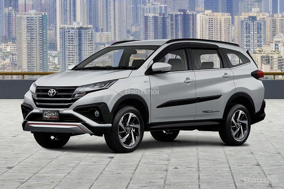 Toyota Rush 2018 sẽ trở thành đối thủ đáng gờm trong phân khúc.