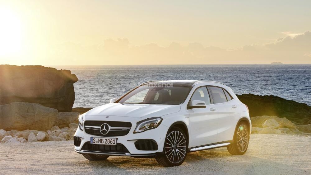 Mercedes-Benz GLA 2018 được đánh giá cao về trải nghiệm lái thể thao.