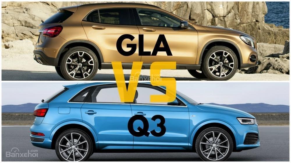 Chọn Mercedes-Benz GLA hay Audi Q3