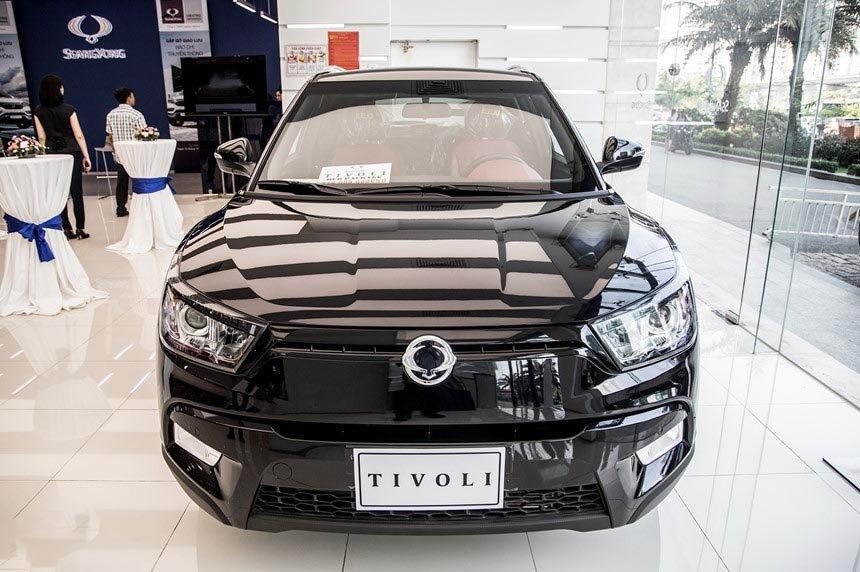 Ảnh chụp đầu xe SsangYong Tivoli 2018