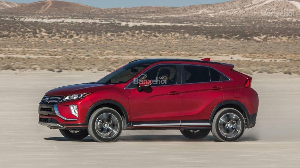 Đánh giá xe Mitsubishi Eclipse Cross 2018: Thân xe.
