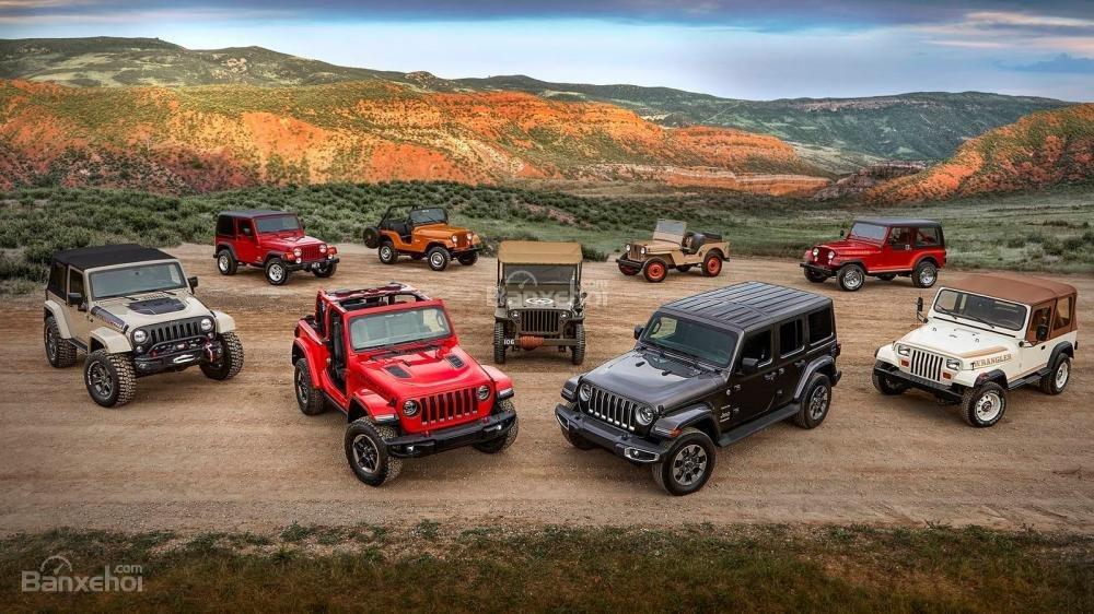 Đánh giá xe Jeep Wrangler 2018-2019.