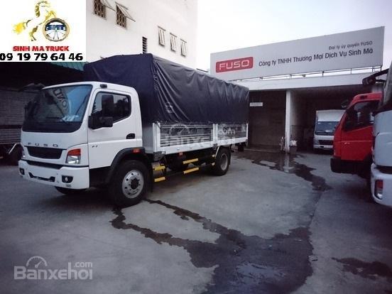 Bán Fuso-2017, màu trắng, thùng bạt giao ngay giá rẻ-6