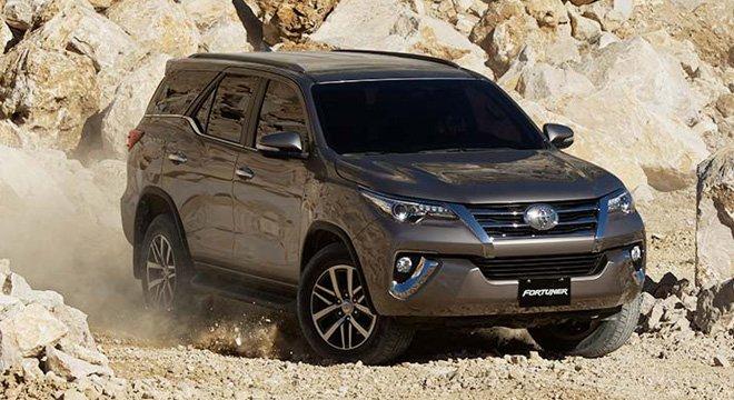 Giá xe Toyota Fortuner mới nhất hiện nay- Ảnh 1.