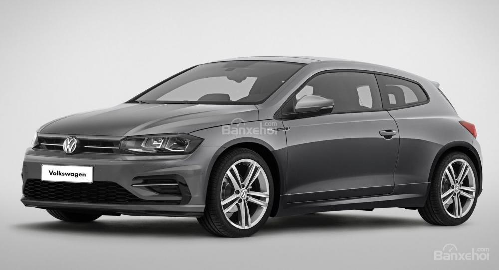 Volkswagen Polo coupe lộ diện để thay thế Scirocco?.