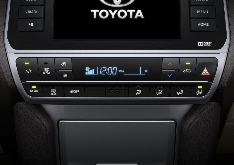 Hệ thống điều hòa tự động  xe Toyota Land Cruiser Prado 2018