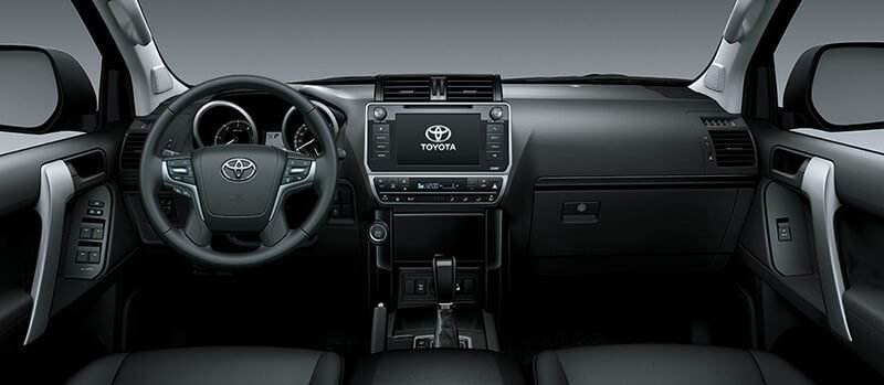 Nội thất xe Toyota Land Cruiser Prado