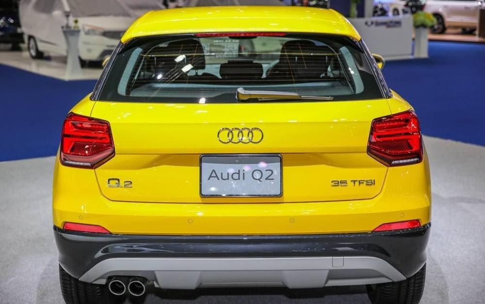 Ảnh chụp đuôi xe Audi Q2 2018