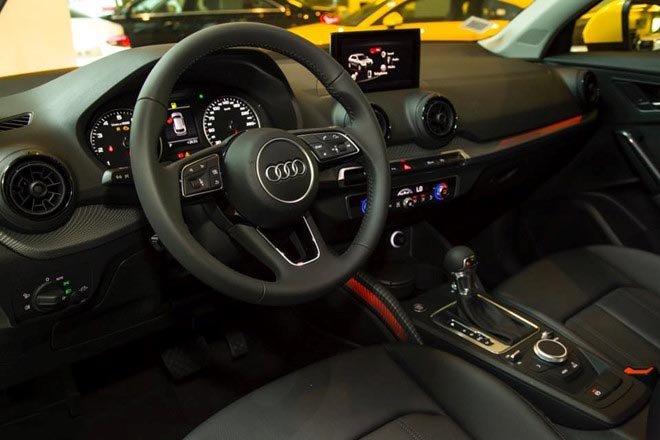 Ảnh chụp nội thất xe Audi Q2 2018