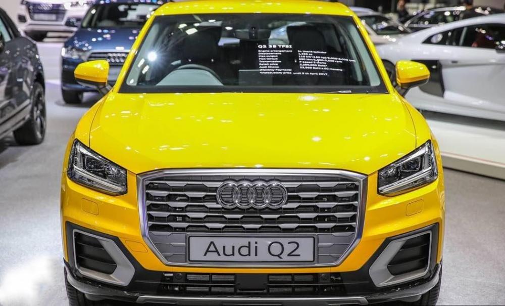 Ảnh chụp đầu xe Audi Q2 2018