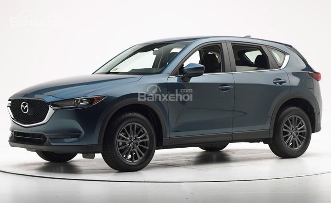 Mazda CX-5 2018 sở hữu vẻ ngoài phong cách.